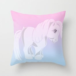 g1 my little pony Throw Pillow