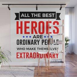 Super Heroes Superheroes Extraordinary Powers Wall Mural