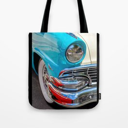 Turquoise and Cream Dream by Teresa Thompson Tote Bag