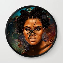 Ethereal Sister II Wall Clock