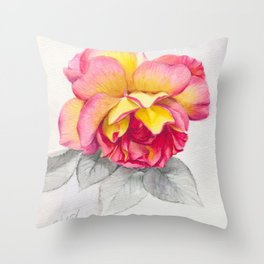 Rose 6 Throw Pillow