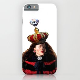 Heart  Red Queen iPhone Case