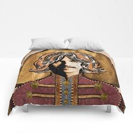 Boho Beatle (George) Comforters