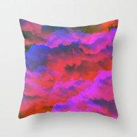 moss Throw Pillows featuring Moss by Tyler Spangler