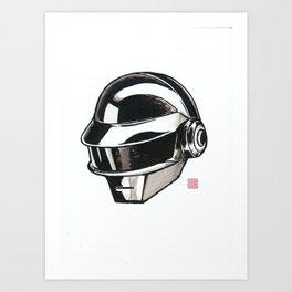 Daft Punk Thomas Bangalter Art Print