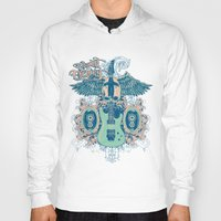 guitar Hoodies featuring Guitar  by Tshirt-Factory