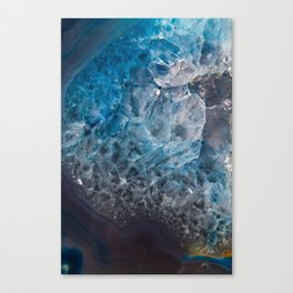 An Ocean in Stone Canvas Print