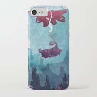 mermaid iPhone & iPod Cases featuring Mermaid by Serena Rocca