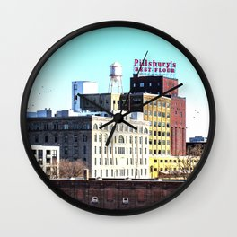 Pillsbury's Best Flour Wall Clock