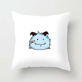 poro fighter Throw Pillow