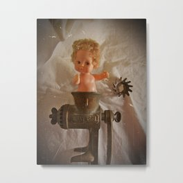 Baby's In A Pinch 2 Metal Print
