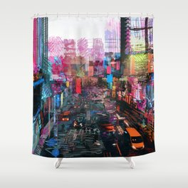 Sweet City Shower Curtain