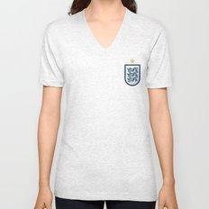 England Minimal Unisex V-Neck