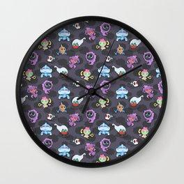 Halloween Tricks Wall Clock