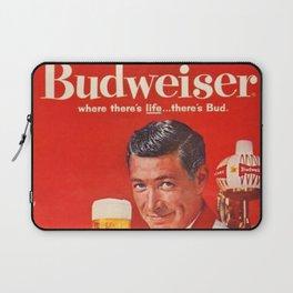 1960 Vintage Beer Poster Advertisement - Retro Advertising Laptop Sleeve