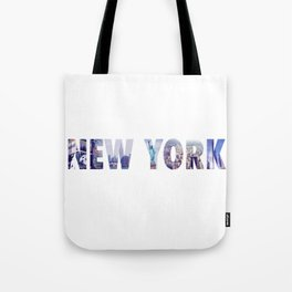 Views of New York Tote Bag