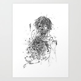 This is How My Bones Rot Art Print