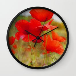 Dreaming of a Summer Gone Wall Clock