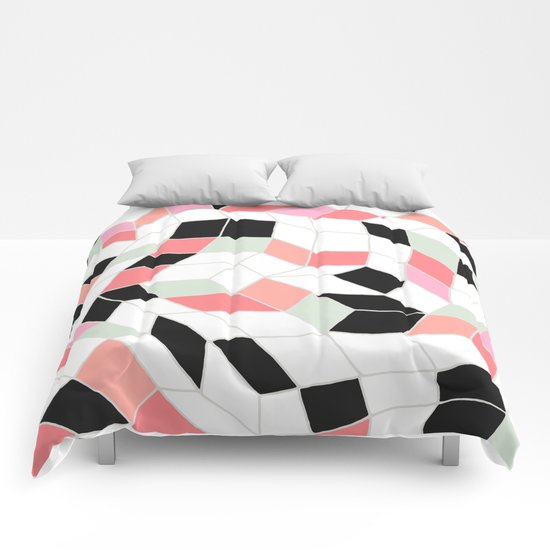 Abstract 06 Comforters