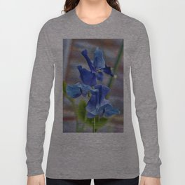 Sweet Pea Flower Long Sleeve T-shirt