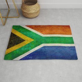 Flag of the Republic of South Africa Rug