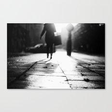 Light Shopping Canvas Print