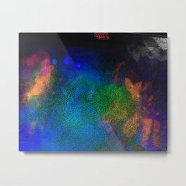 A Palette is a Spectrum Metal Print