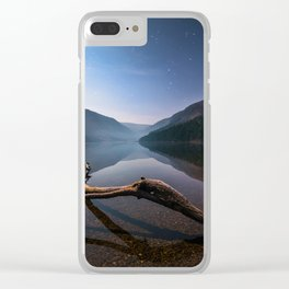 Glendalough at Night - Ireland | Print (RR 265) Clear iPhone Case
