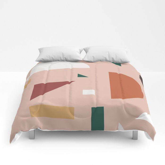 Abstract Geometric 31 Comforters