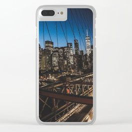 Exploring New York Clear iPhone Case