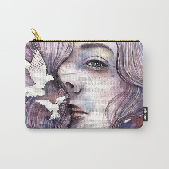 Dreams of freedom, watercolor artwork Carry-All Pouch