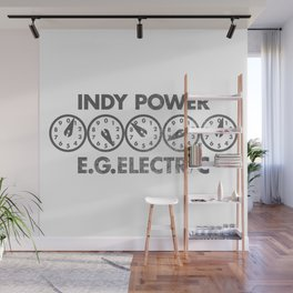 E.G. Electric Indy Power Wall Mural