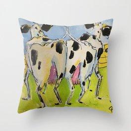 Barnyard Bump Throw Pillow