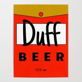 Duff beer Poster
