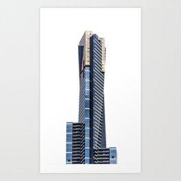 Eureka Tower Art Print
