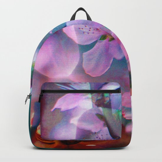 Double Flowers Backpack