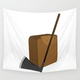 Blade and Block Wall Tapestry