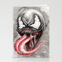 venom Stationery Cards featuring venom by rchaem