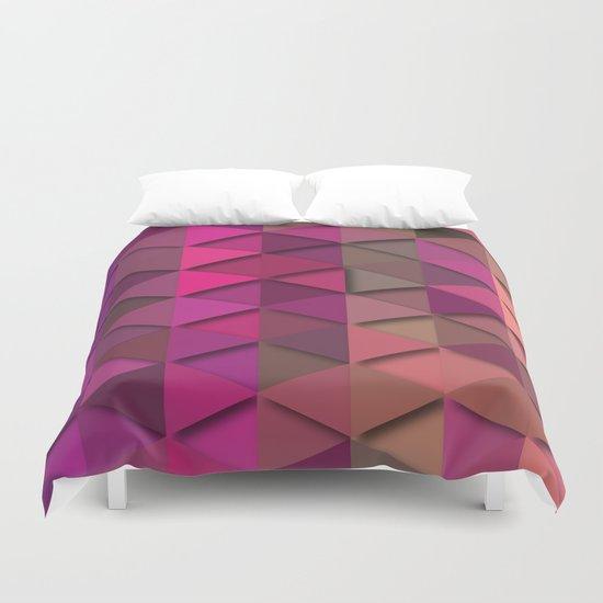 Purple Party Duvet Cover