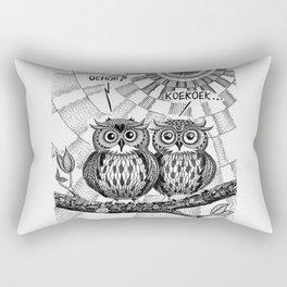 OWL TALK Rectangular Pillow