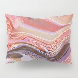 Pastel Cascade Abstract Pillow Sham