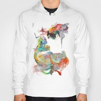 archan nair Hoodies featuring Drifting Particles by Archan Nair
