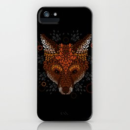 Fox Face iPhone Case