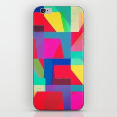 Colorful Truth. Red iPhone & iPod Skin