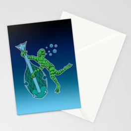 Dark Tunes From Black Lagoons Stationery Cards