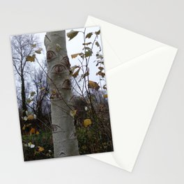 Trees #2 - Looking tree Stationery Cards