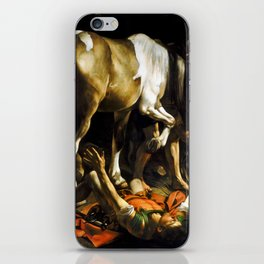 Caravaggio Conversion on the Way to Damascus iPhone Skin