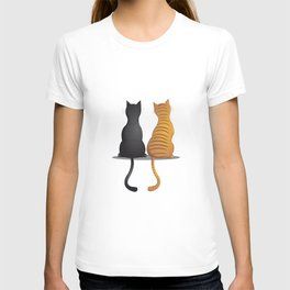 cat buddies T-shirt
