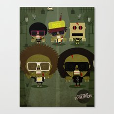 Party zombie rock Canvas Print