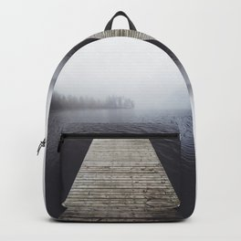 Fading into the mist Backpack